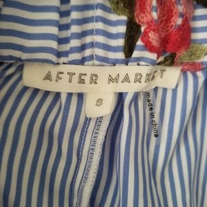 After Market Skirts - After Market Striped floral skirt